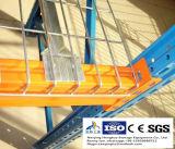 Painéis da plataforma do fio de aço, trilhos da plataforma do fio, Decking do fio