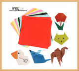 Do papel de papel da cor do tamanho 70*70mm Origami papel Handmade DIY