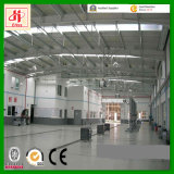 창고 배치 디자인 Anti-Corrosion Prefabricated 강철 휴대용 창고