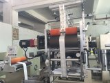 Máquina que corta con tintas de la etiqueta adhesiva y Sheeter y sellado caliente