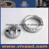 精密CNCの機械化の回転旋盤アルミニウム機械部品