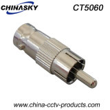 CCTV Male RCA to Female BNC Plug (CT5060)