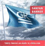 Выполненное на заказ высокое качество резвится флаг, рекламируя флаг