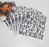 レストランのための黒によってカスタマイズされる特殊紙のナプキン