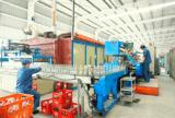 Bottiglia di vetro di esagono con la protezione dorata del metallo (190, 270, 400ml)