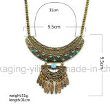 ボヘミア様式レディース方法金属の宝石ネックレス及びペンダントの鎖