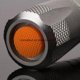 Lanterna elétrica de 18650 baterias com Ce, RoHS, MSDS, ISO, GV