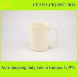 Qualitäts-hellgelbe keramische Kaffeetasse