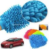 Супер перчатки чистки мытья автомобиля Microfiber перчатки