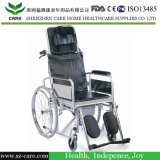 Commode 휠체어를 접히는 휠체어의 중국 제조자