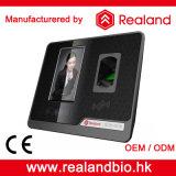 Realand Gesichts-Fingerabdruck-Anerkennungs-Zeit-Anwesenheits-System