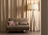 O sofá secional de couro ajustou-se para a sala de visitas (GLS-013)