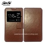 新しい到着一義的なデザイン革ユニバーサルフリップ携帯電話の箱