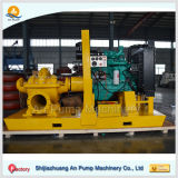 """14 """" Centrifugaal Diesel van de Pomp van het Geval van de Irrigatie Gespleten Kwaliteit Op hoog niveau Met motor"""