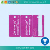 PVCオフセット印刷の荷物の主タグカード