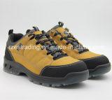 Ботинки безопасности PU Outsole стальной плиты