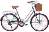 """Bici della città della bicicletta della città dell'annata della bici 26 della città delle 6 di velocità dell'annata della bicicletta signore del blocco per grafici d'acciaio """""""