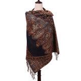 Новая шаль жаккарда Pashmina зимы шарфа типа 2016 для повелительницы