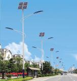 réverbère solaire du double bras DEL de 40W Updatest
