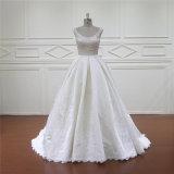 絶妙な人魚のレバノンデザイナーサテンの婚礼衣裳