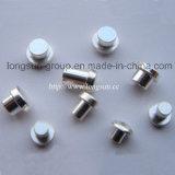 Rebites elétricos com os pontos de prata usados para todos os tipos dos interruptores