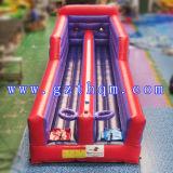 Amortiguador auxiliar inflable adulto de dos carriles funcionado con/deportes inflables del baloncesto para los cabritos
