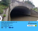 Conduttura del canale sotterraneo della strada