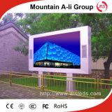 P6 im Freien SMD LED-Bildschirm für das Bekanntmachen des Zeichen-Vorstands