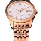 新式の日本動きのステンレス鋼の方法水晶腕時計Bg460