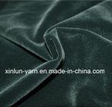 Le balai 100% de polyester/a enduit/a collé/s'assemblant le tissu de velours de polyester pour le vêtement/chaussures/sofa