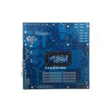 Cartão-matriz do server do processador central NVR do núcleo do quadrilátero de Avoton Soc C2550 com 13 SATA