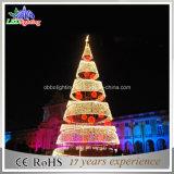 Heißer Weihnachtsbaum des Verkaufs-3D gewundener des Funkeln-LED