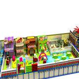 Cour de jeu molle d'intérieur de Themem de modèle de sucrerie neuve de bonne qualité
