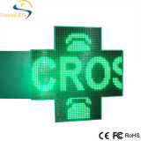 Diodo emissor de luz Pharmacy Cross Jesus de Green/Red/Blue Single Color para Advertizing