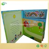 Impressão feita sob encomenda do livro de crianças da qualidade, livro da placa das crianças (CKT-BK 536)