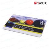 광택이 없는 박판으로 만들어진 125kHz Em4200 조가비 RFID 카드