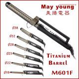 Encrespador de cabelo Titanium de Styler do cabelo da braçadeira do estilo do preço de fábrica X