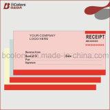 OEM factura Libro, Papel de recibo de carbono impresión de libro con Fast Tiempo de entrega