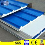 Ширина листа 970mm крыши белого цвета стальная