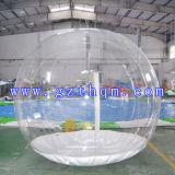 Tente gonflable de bulle transparente/tente gonflable d'herbe