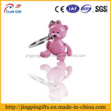 2016 Cute promocional Little Bear Metal Key Chain con Gift