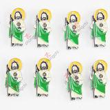 Amo los granos del encanto de la diapositiva de Jesús para la pulsera (JP08-663)