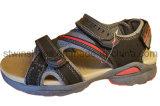 Sandálias de couro da corrediça dos homens do conforto