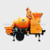 Trailer électrique Concrete Mixer Pump en Sale