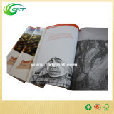 Impressão Softcover feita sob encomenda do livro da cor cheia com colagem (circuito - SB- 201)