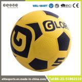 Esfera de futebol 2016 de borracha impermeável com bexiga da ferida