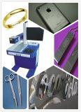 Гравировальный станок маркировки лазера волокна Meatl для Я-Пусковой площадки, iPhone/Apple, кец, Jewwlry