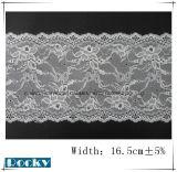 De nylon Versieringen van het Kant van de Rek voor Breedte 16.5cm van de Toebehoren en van het Ondergoed van het Kledingstuk
