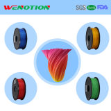 Plus colore le filament d'impression du filament 3D d'ABS de 1.75mm