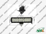 Guide optique du CREE 54W LED, CE, IP67, guide optique de RoHS LED, 3W guide optique de la série LED